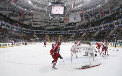 Russia and Denmark opened the 2007 IIHF World Championship in Moscow. This year they will battle for hosting rights in 2016. (Photo: Jani Rajam?ki)